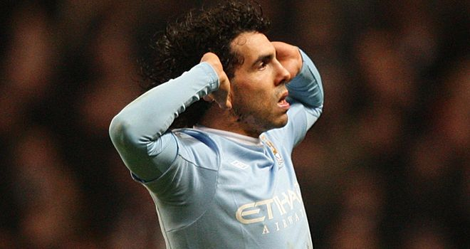 Tevez: Expects a fierce reception