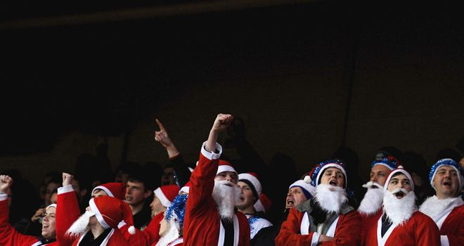 Get in the festive spirit with Sky Sports...