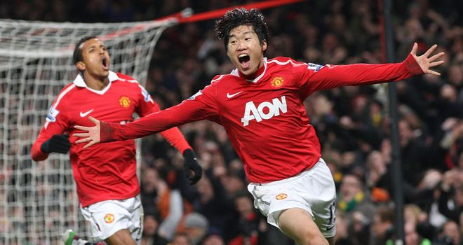Park: Honoured to play for Manchester United