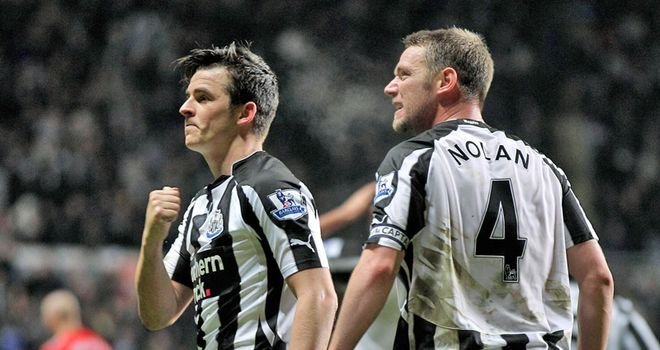 Nolan: Wants Barton to stay at Newcastle and help the club challenge for Europe next season