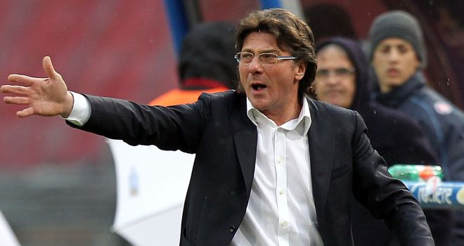 Mazzarri: His side were able to gain their first ever Champions League point