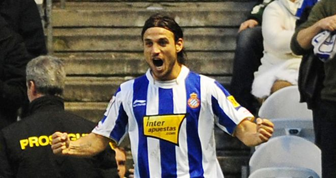Osvaldo: Highly-rated in Spain and looks to have caught Fulham's eye this season