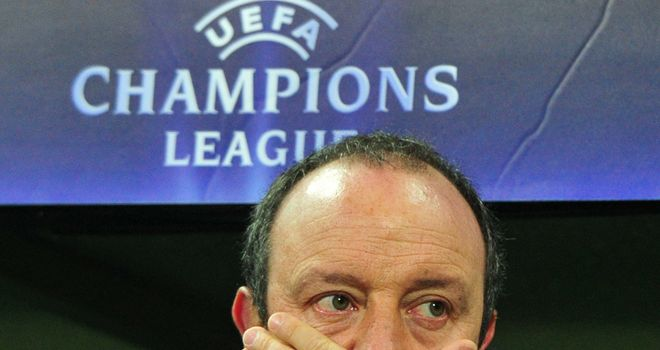 Benitez: Axed by Inter