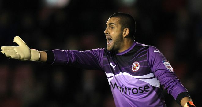 Adam Federici: Reading keeper praised by manager Brian McDermott
