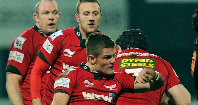 Scarlets: Bonus point victory