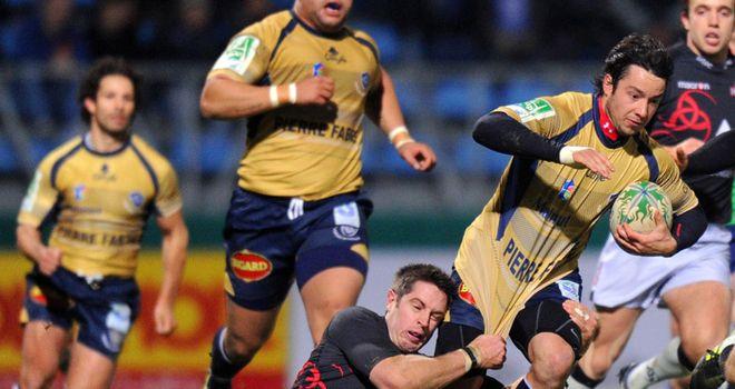 Inigo: scored first Castres try