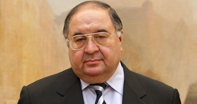 Alisher Usmanov: Uzbek billionaire is open to increasing his shares