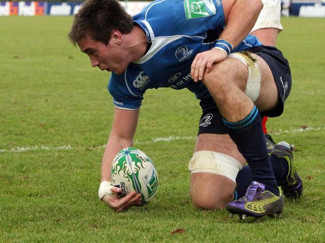 Dominic Ryan: Hat-trick of tries