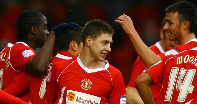 Miller: In demand after coming through Crewe's fabled youth system
