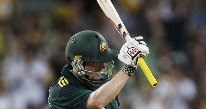 Hussey: Played for Nottinghamshire while unregistered