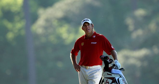 Lee Westwood: Masters runner-up in 2010