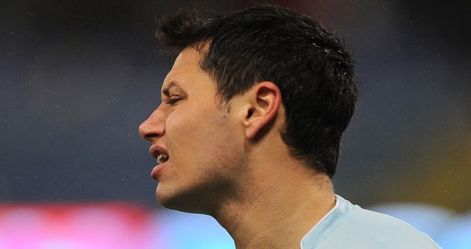 Zarate: Seems destined to leave Lazio this summer after a fall-out