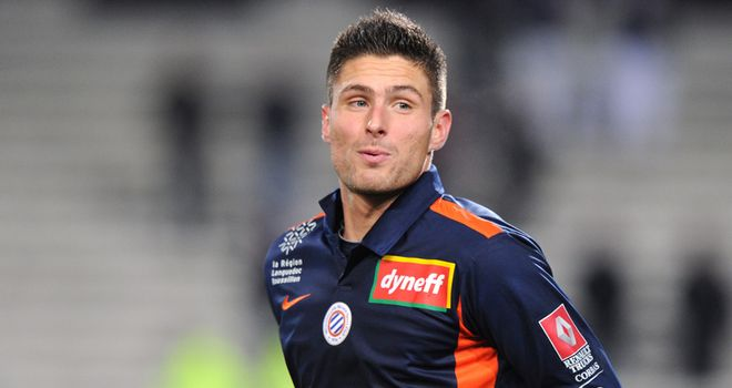 Olivier Giroud: Notched a hat-trick as Montpellier beat Dijon in eight-goal thriller