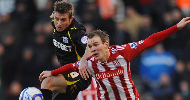 Whelan: Set to remain at Stoke