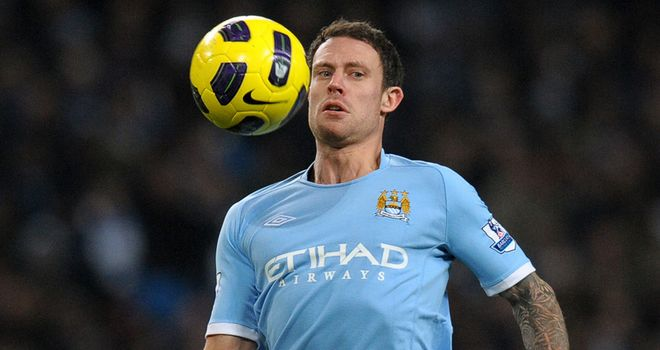 Bridge: Entering the final year of his contract at Man City and has been targeted by Villa