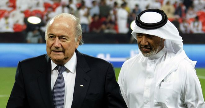 Blatter & Bin Hammam: Rivals