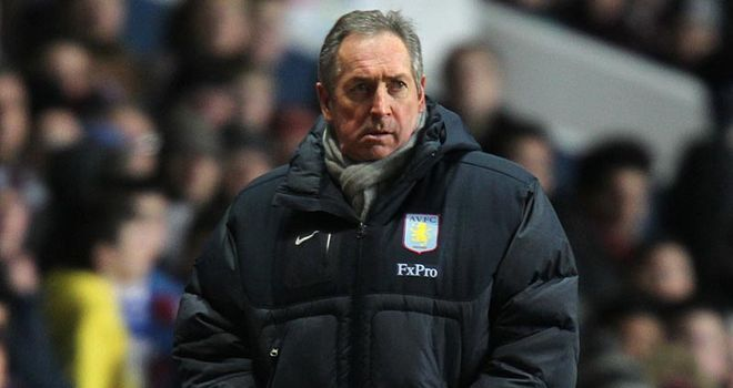 Houllier: Unhappy with Holloway