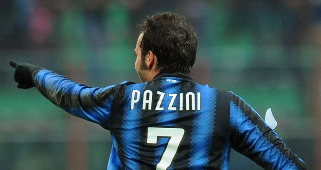 Pazzini: Quality performance by the Inter hitman