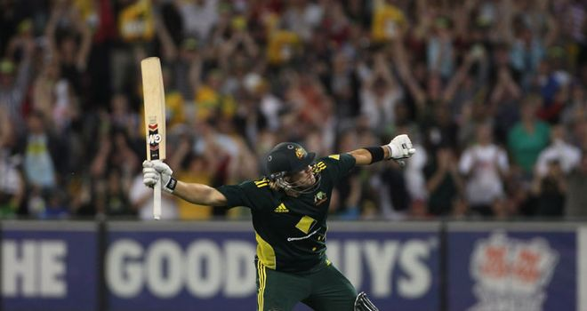 Watson: fifth highest ODI score by an Australian