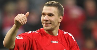 Lukas Podolski is keen to see out his contract with Cologne