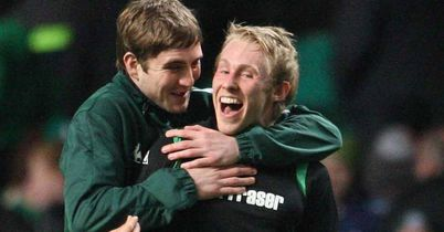 Galbraith: Looking to prove his worth to Hibernian boss Colin Calderwood next season