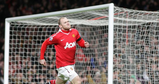 Rooney: Scored after 49 seconds