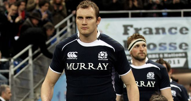 Kellock: captains Scotland at World Cup