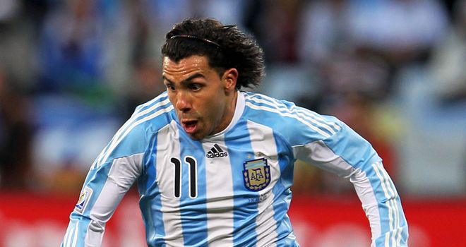 Carlos Tevez: Has been omitted from Argentina's squad for next month's World Cup qualifier