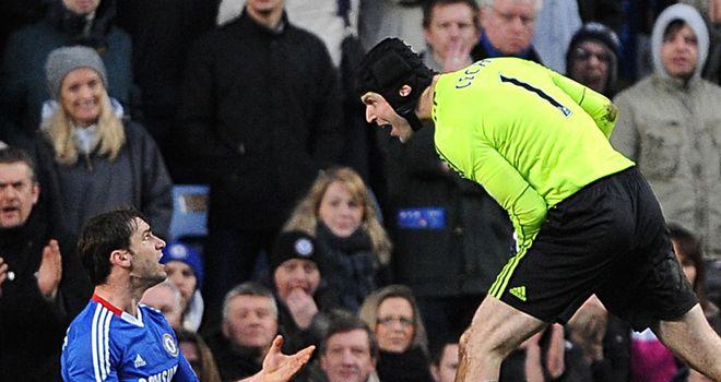 Cech & Ivanovic: Determined to regain Premier League title next season