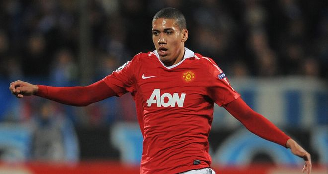 Smalling: Pleased with form
