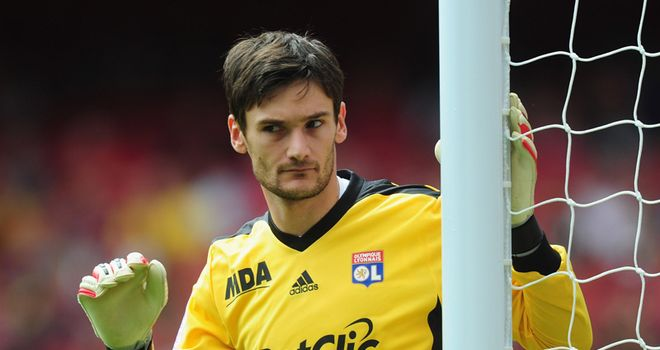 Lloris: Has been linked with a move to Old Trafford