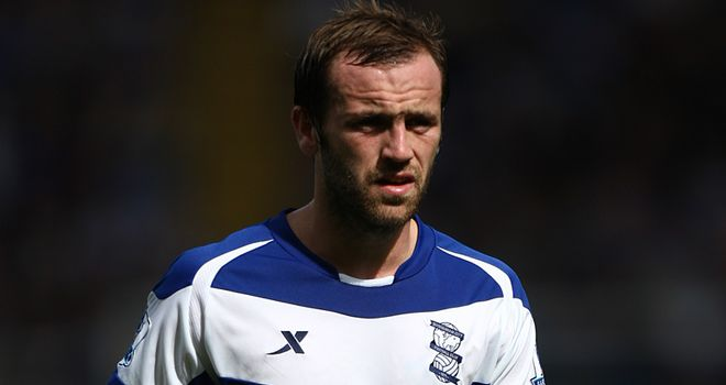 McFadden: Former Birmingham striker trains with Wolves.