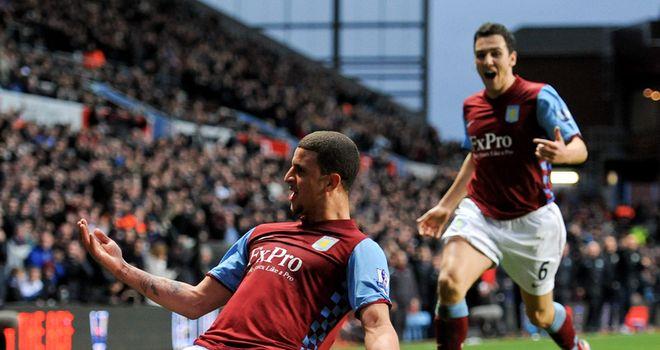 Walker: Impressing at Villa