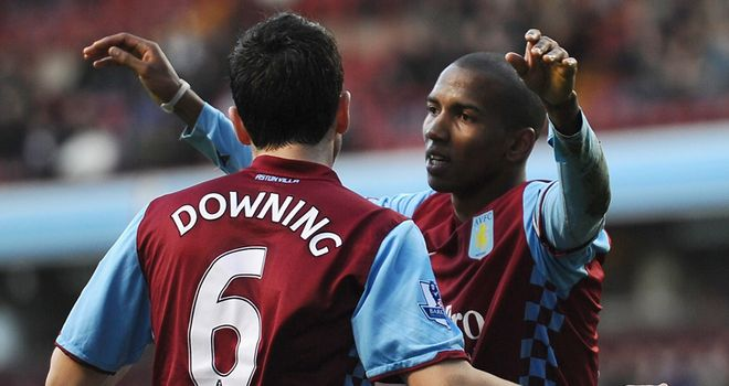 Villa duo Ashley Young and Stewart Downing are attracting interest from other clubs