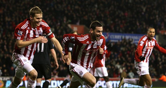 Rory Delap: In happier times when teams feared travelling to Stoke to face his side
