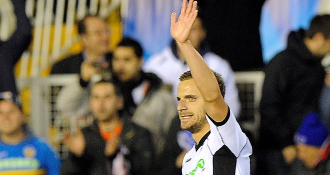 Soldado: Hat-trick hero for Valencia