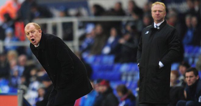 Megson: Unhappy despite team winning