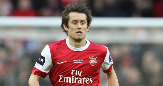 Rosicky: Feeling fit and ready to fight for his place in Arsenal's starting XI