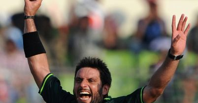 Afridi: led from the front for Pakistan with 21 wickets