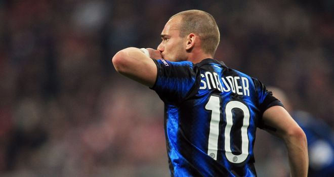 Sneijder: Is the player at the heart of one of this summer's biggest transfer sagas