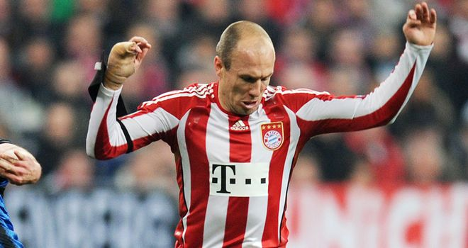 Robben: Keen to extend his stay at Bayern Munich