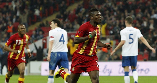 Gyan: Ghana striker has an impressive record at international level