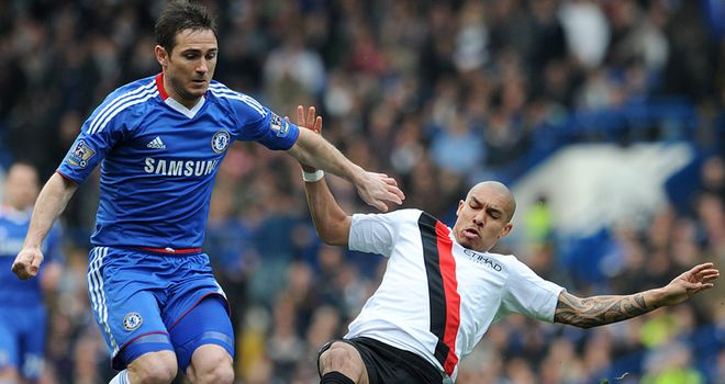 Lampard: will he be included on Monday night?