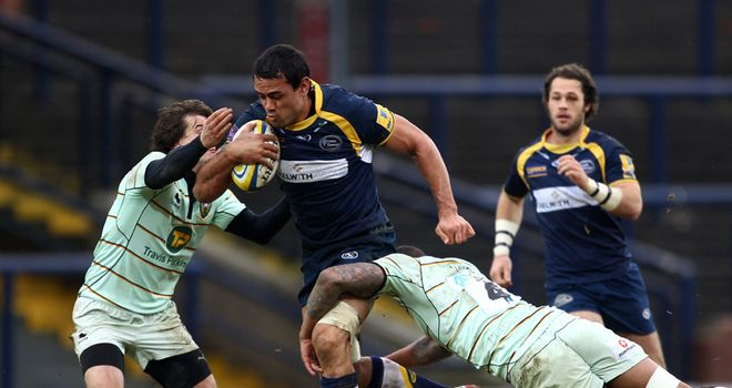 Lawes: raring to go in Heineken Cup quarter-final
