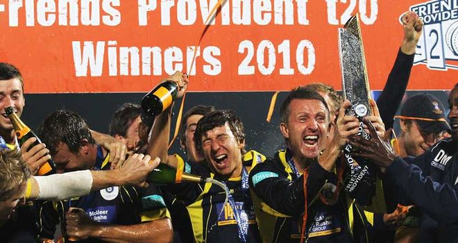 Cork captained Hampshire to T20 glory in 2010