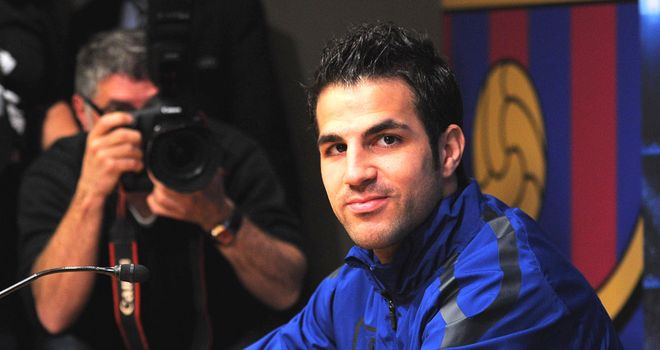 Fabregas: Barcelona are expected to make a new bid of £35m