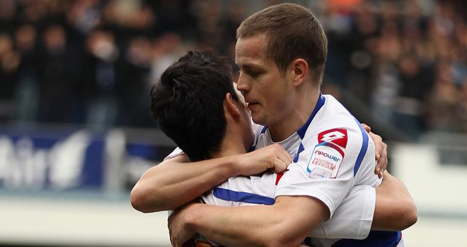 Helguson: Hoping he can sign a new contract at QPR following promotion to the Premier League