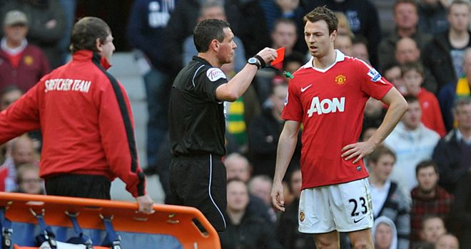 Jonny Evans: Does not believe he should be held totally responsible for the derby defeat