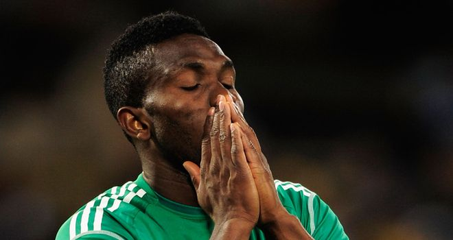Yobo: Opening the scoring in a vital 2-0 win for Nigeria