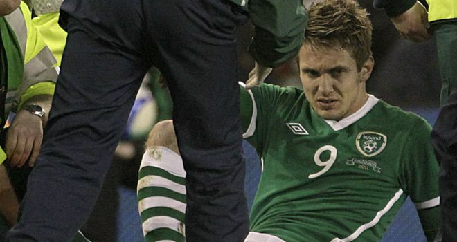 Doyle: Set to play first international since injury against Macedonia in March